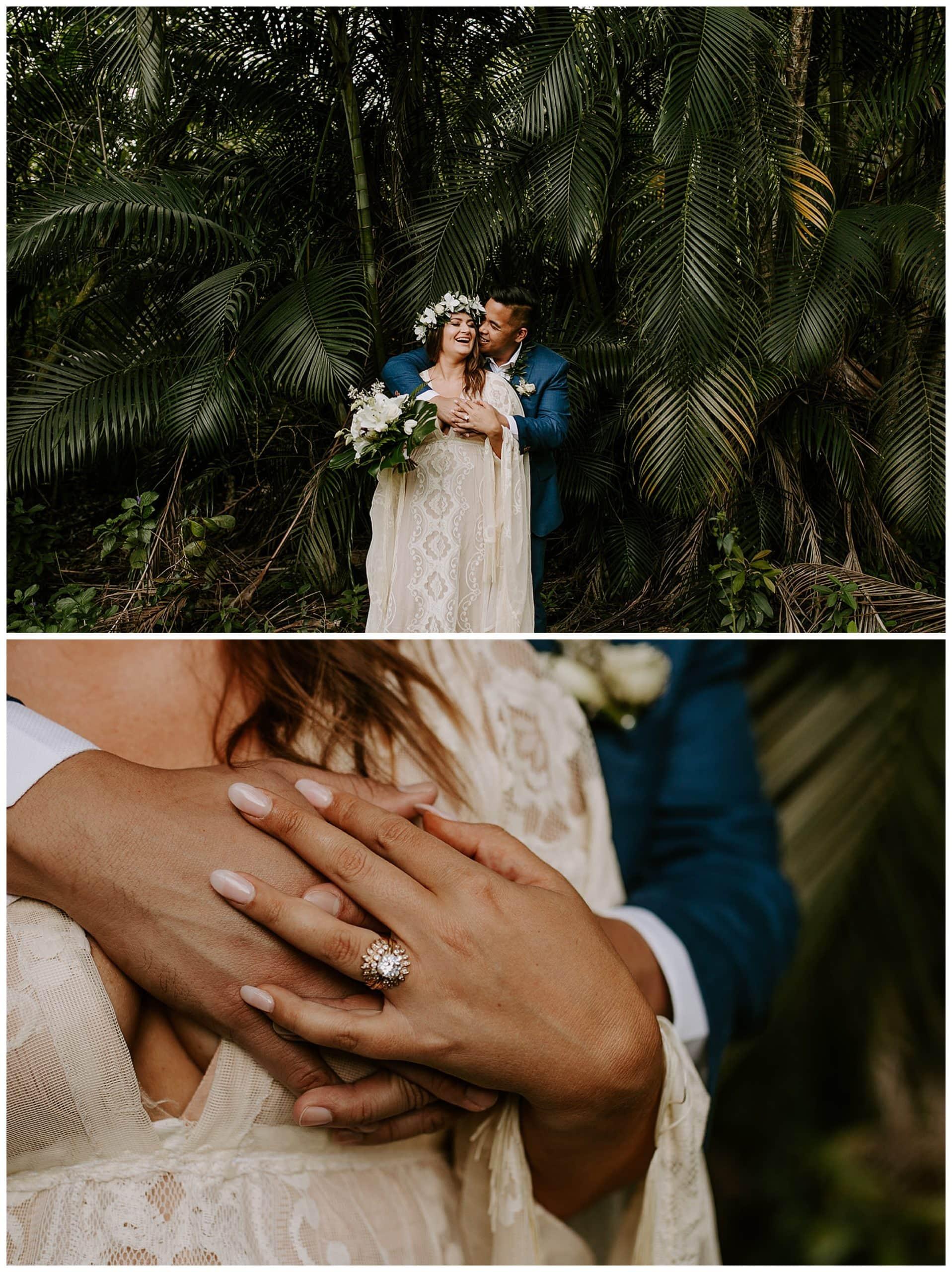 destination wedding at Ho'omaluhia Botanical Garden