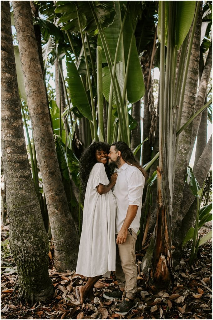 maternity photos in forest
