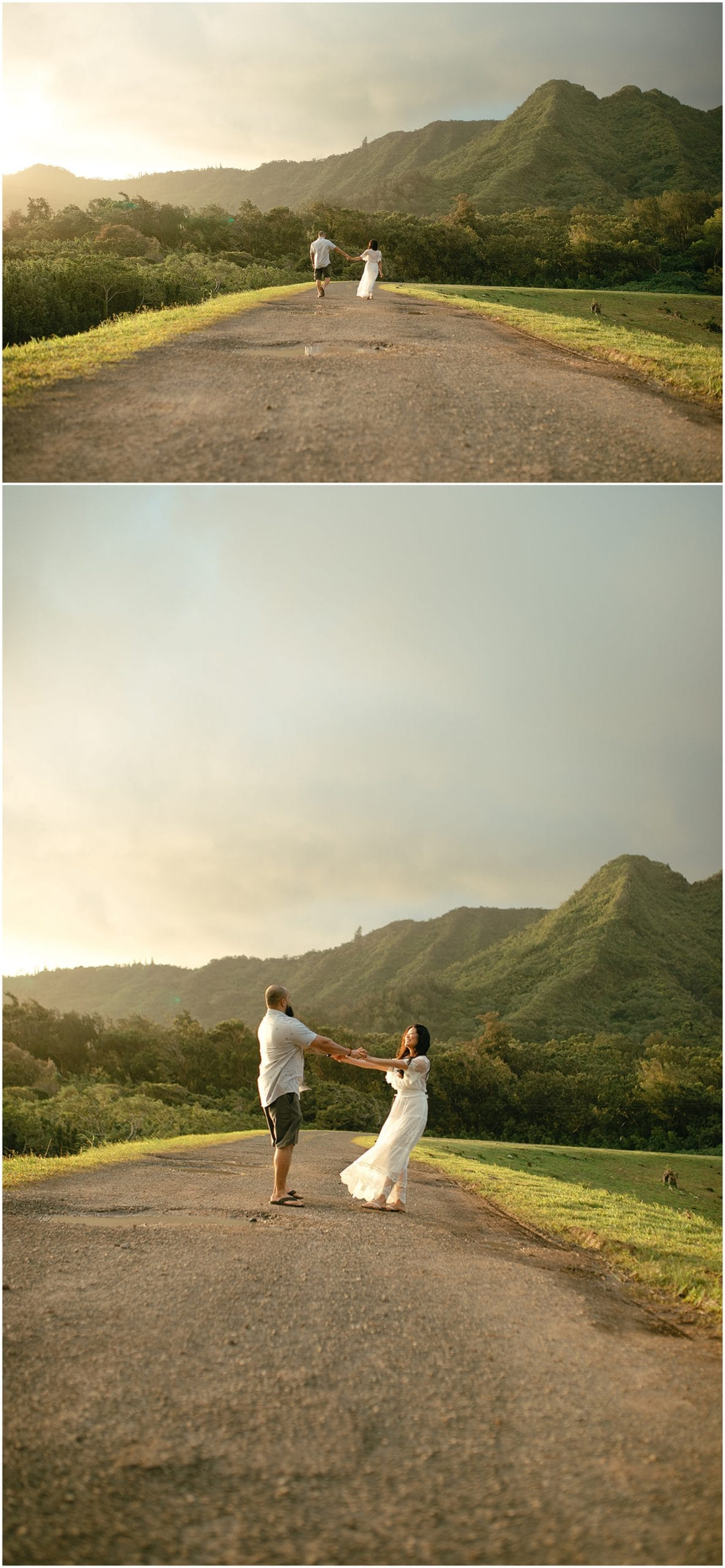 engagement session in oahu