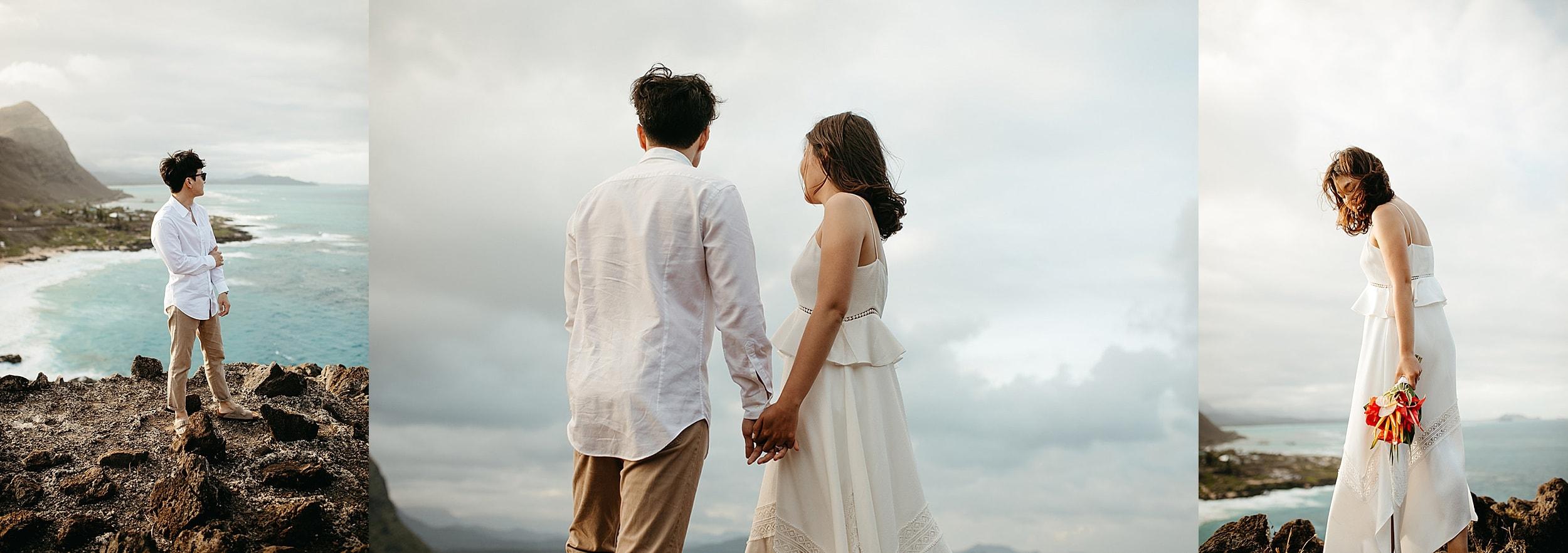 hawaii elopement in Oahu