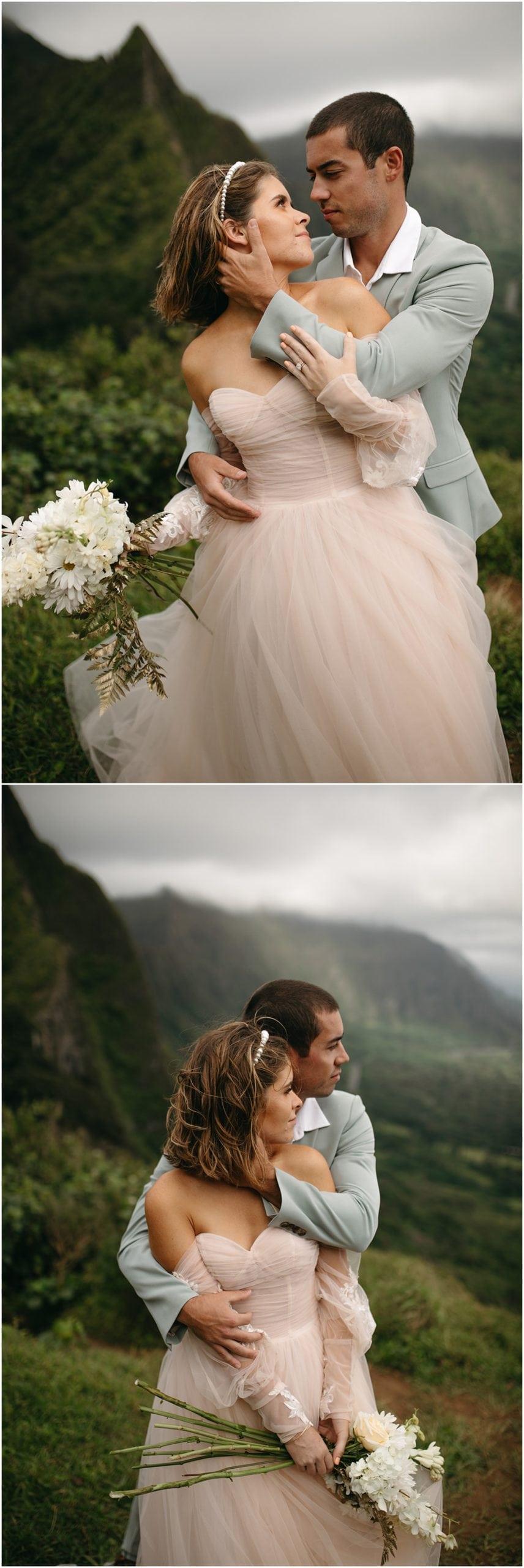 adventure elopement in mountains