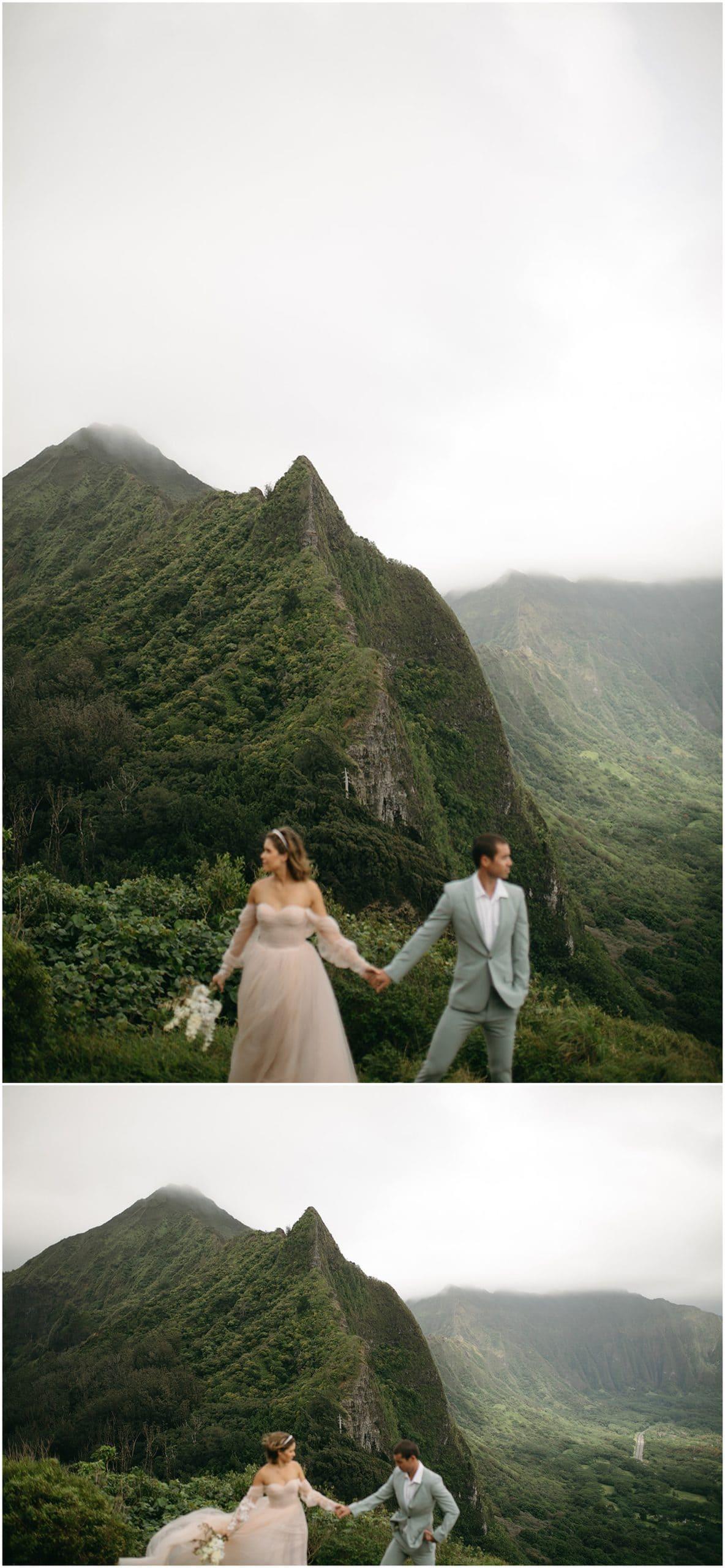 adventure elopement in hawaii