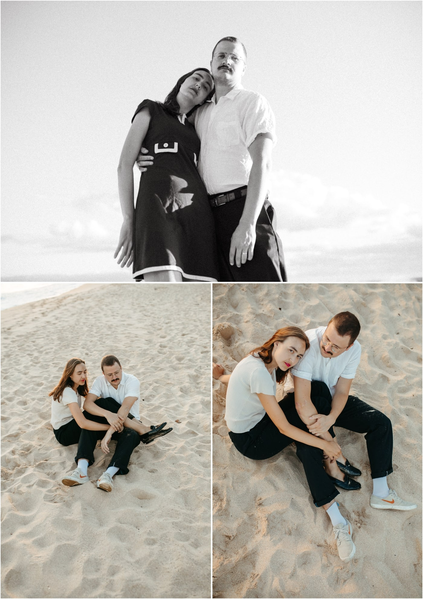 Destination couples session in Oahu